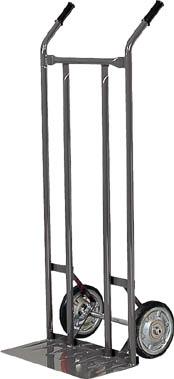 TRUSCO スチールパイプ製二輪車 H1210 すくい板205X470【2011】 販売単位:1台(入り数:-)JAN[4989999671766](TRUSCO 二輪運搬車) トラスコ中山(株)【05P03Dec16】