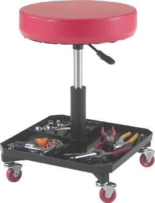 TRUSCO 工具入れ付作業椅子 Φ370XH440ー555【TWCS】 販売単位:1脚(入り数:-)JAN[4989999756586](TRUSCO 作業用チェア) トラスコ中山(株)【05P03Dec16】