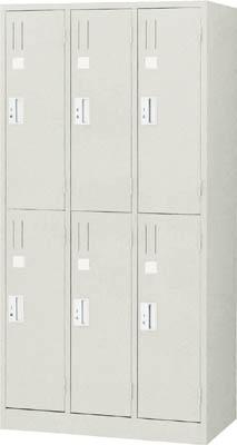 TRUSCO シンプルロッカー 6人用 900X515XH1790【TSNL6】 販売単位:1台(入り数:-)JAN[-](TRUSCO ロッカー) トラスコ中山(株)【05P03Dec16】
