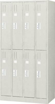 TRUSCO シンプルロッカー 8人用 900X515XH1790【TSNL8】 販売単位:1台(入り数:-)JAN[-](TRUSCO ロッカー) トラスコ中山(株)【05P03Dec16】