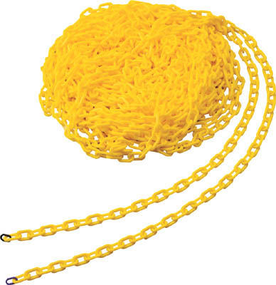 TRUSCO普拉鏈子6MMX30M黄色銷售學分:1卷(進入數量:-)JAN[4989999033915](TRUSCO鏈子枱燈)TRUSCO中山株式會社