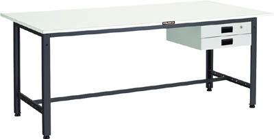 TRUSCO LEWR型作業台 1800X900XH740 薄型2段引出付【LEWR1809UDK2】 販売単位:1台(入り数:-)JAN[-](TRUSCO 軽量作業台) トラスコ中山(株)【05P03Dec16】