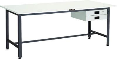 TRUSCO LEWR型作業台 1500X750XH740 薄型2段引出付【LEWR1500UDK2】 販売単位:1台(入り数:-)JAN[-](TRUSCO 軽量作業台) トラスコ中山(株)【05P03Dec16】