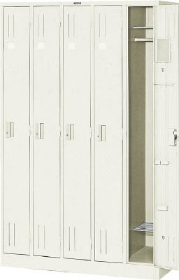 TRUSCO スタンダードロッカー 5人用 1119X515XH1790【NL57】 販売単位:1台(入り数:-)JAN[4989999764338](TRUSCO ロッカー) トラスコ中山(株)【05P03Dec16】