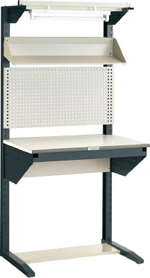 TRUSCO ライン作業台 片面 パネル・傾斜棚型 W900【ULRT900F】 販売単位:1台(入り数:-)JAN[4989999814576](TRUSCO ライン作業台) トラスコ中山(株)【05P03Dec16】