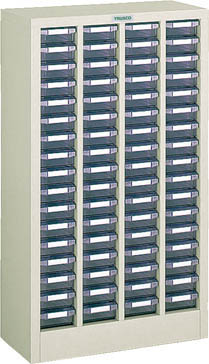 TRUSCO バンラックケースB型 4列17段【B417】 販売単位:1台(入り数:-)JAN[4989999623376](TRUSCO 小型パーツケース) トラスコ中山(株)【05P03Dec16】