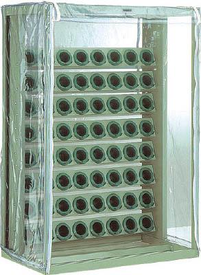TRUSCO ツーリングラック 帯電防止カバー付 BT・NT40用 80個収納【VTL810B】 販売単位:1台(入り数:-)JAN[4989999669848](TRUSCO ツーリングラック) トラスコ中山(株)【05P03Dec16】