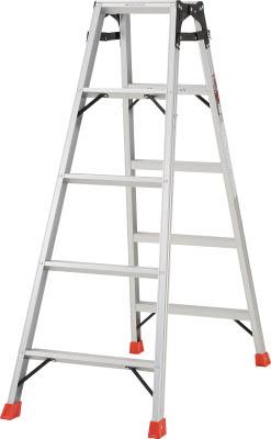 TRUSCO はしご兼用脚立 アルミ合金製・脚カバー付 高さ1.40m【THK150】 販売単位:1台(入り数:-)JAN[4989999790122](TRUSCO 脚立) トラスコ中山(株)【05P03Dec16】