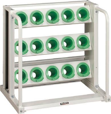 TRUSCO ツーリングラック BT・NT50兼用 15個収納 ロック付 W色【VTL35AW】 販売単位:1台(入り数:-)JAN[-](TRUSCO ツーリングラック) トラスコ中山(株)【05P03Dec16】