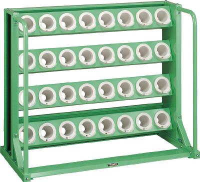 TRUSCO ツーリングラック BT・NT50兼用 25個収納 ロック付 W色【VTL55AW】 販売単位:1台(入り数:-)JAN[-](TRUSCO ツーリングラック) トラスコ中山(株)【05P03Dec16】