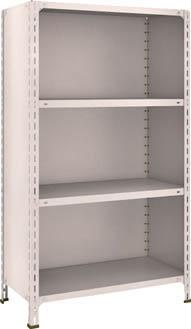 TRUSCO 軽量棚背板・側板付 W875XD450XH1500 4段【53X24NG】 販売単位:1台(入り数:-)JAN[4989999722543](TRUSCO 軽量棚) トラスコ中山(株)【05P03Dec16】