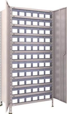 TRUSCO 軽量棚扉付 875X533XH1800 樹脂引出透明 小X66【63XT812C11NG】 販売単位:1台(入り数:-)JAN[4989999723755](TRUSCO 軽量棚) トラスコ中山(株)【05P03Dec16】