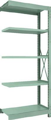 TRUSCO R3型中量棚 900X450XH2100 5段 連結【R37355B】 販売単位:1台(入り数:-)JAN[4989999739121](TRUSCO 中量棚) トラスコ中山(株)【05P03Dec16】