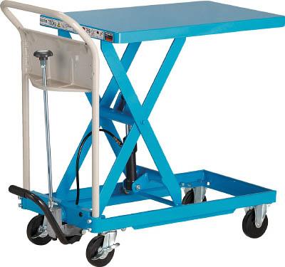 TRUSCO ハンドリフター 150kg 400X720 ブルー【HLFS150B】 販売単位:1台(入り数:-)JAN[4989999413342](TRUSCO 移動式リフター) トラスコ中山(株)【05P03Dec16】
