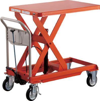 TRUSCO ハンドリフター 500kg 600X900 オレンジ【HLFE500】 販売単位:1台(入り数:-)JAN[-](TRUSCO 移動式リフター) トラスコ中山(株)【05P03Dec16】