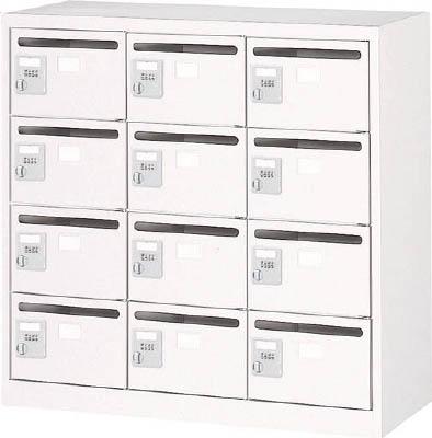 TRUSCO メールボックス 12人用 手ぶらキー 900X380XH880 ホ【WMVK12P】 販売単位:1台(入り数:-)JAN[-](TRUSCO メールボックス) トラスコ中山(株)【05P03Dec16】