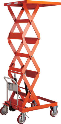 TRUSCO ハンドリフター 500kg 500X600 高揚程型【HLFS500W】 販売単位:1台(入り数:-)JAN[-](TRUSCO 移動式リフター) トラスコ中山(株)【05P03Dec16】