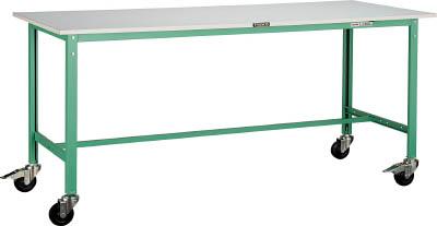 TRUSCO RAE型作業台 1200X750XH740 100Φキャスター付【RAE1200C100DG】 販売単位:1台(入り数:-)JAN[-](TRUSCO 軽量作業台) トラスコ中山(株)【05P03Dec16】