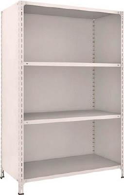 TRUSCO 軽量棚背板・側板付 W1200XD600XH1800 4段【64W24NG】 販売単位:1台(入り数:-)JAN[4989999723830](TRUSCO 軽量棚) トラスコ中山(株)【05P03Dec16】