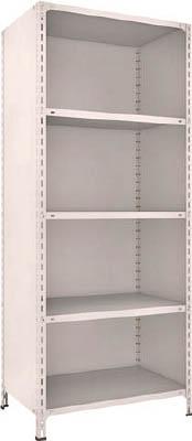 TRUSCO 軽量棚背板・側板付 W875XD600XH2100 5段【73W25NG】 販売単位:1台(入り数:-)JAN[4989999724271](TRUSCO 軽量棚) トラスコ中山(株)【05P03Dec16】