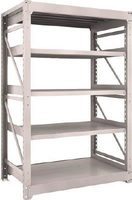 TRUSCO M10型重量棚 1200X760XH1800 5段 単体 NG【M106475NG】 販売単位:1台(入り数:-)JAN[4989999737431](TRUSCO 重量棚) トラスコ中山(株)【05P03Dec16】