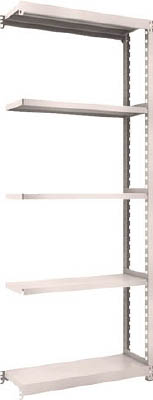 TRUSCO M2型軽中量棚 860X300XH2100 5段 連結 NG【M27335BNG】 販売単位:1台(入り数:-)JAN[4989999729344](TRUSCO 軽中量棚) トラスコ中山(株)【05P03Dec16】