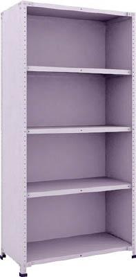 TRUSCO 軽量150型背側板付棚 900X450XH1800 5段【TLA63S25】 販売単位:1台(入り数:-)JAN[-](TRUSCO 軽中量棚) トラスコ中山(株)【05P03Dec16】