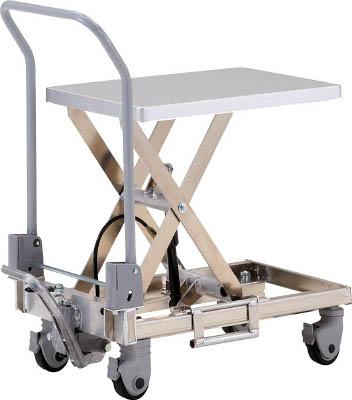 TRUSCO アルミハンドリフター50kg(足踏み油圧式)350X570【HLFS50A】 販売単位:1台(入り数:-)JAN[-](TRUSCO 移動式リフター) トラスコ中山(株)【05P03Dec16】