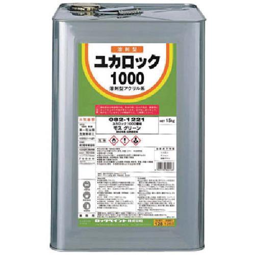 ロック ユカロック#1000 ブラウン 15KG【82111401】 販売単位:1缶(入り数:-)JAN[4957139821418](ロック 塗料) ロックペイント(株)【05P03Dec16】