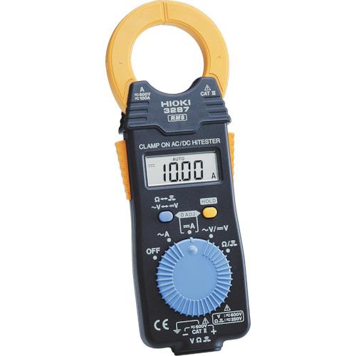 HIOKI クランプオンAC/DCハイテスタ【3287】 販売単位:1個(入り数:-)JAN[-](HIOKI クランプメーター) 日置電機(株)【05P03Dec16】