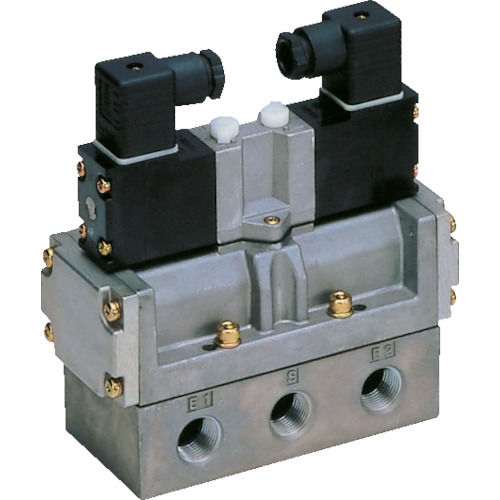 CKD 4Fシリーズパイロット式5ポート弁セレックスバルブ【4F42008AC100V】 販売単位:1台(入り数:-)JAN[4547431000767](CKD 電磁弁) CKD(株)【05P03Dec16】