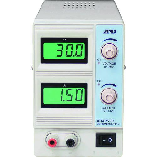 A&D 直流安定化電源 30V 1.5A【AD8723D】 販売単位:1台(入り数:-)JAN[4981046417716](A&D 電源装置) (株)エー・アンド・デイ【05P03Dec16】