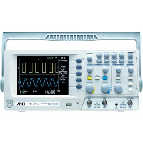 A&D デジタルオシロスコープ【AD5142D】 販売単位:1台(入り数:-)JAN[-](A&D 電源装置) (株)エー・アンド・デイ【05P03Dec16】