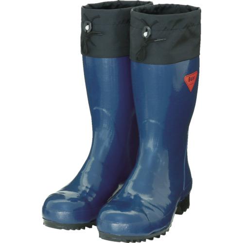 SHIBATA セーフティベアー500 ネイビー 25.0CM【AB06125.0】 販売単位:1足(入り数:-)JAN[4582281938013](SHIBATA 安全長靴) シバタ工業(株)【05P03Dec16】