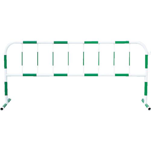 トーグ トーグ安全工業(株)【05P03Dec16】 カラーパイプバリケード緑反射白【CB3】 工事用フェンス) 販売単位:1台(入り数:-)JAN[4571296724681](トーグ