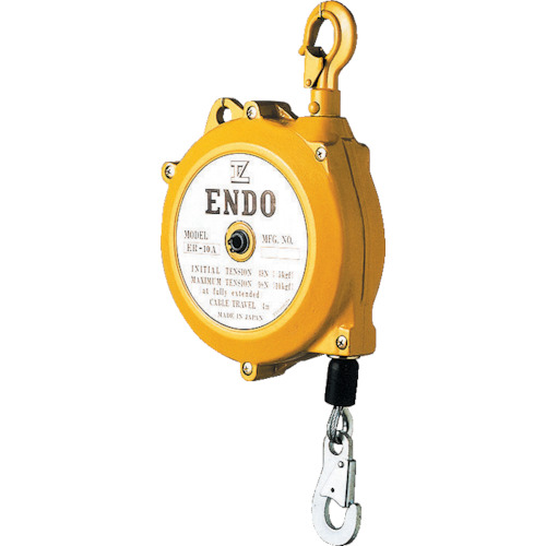 ENDO トルクリール ラチェット機構付 ER-5A 3m【ER5A】 販売単位:1台(入り数:-)JAN[4560119620408](ENDO ツールバランサー) 遠藤工業(株)【05P03Dec16】