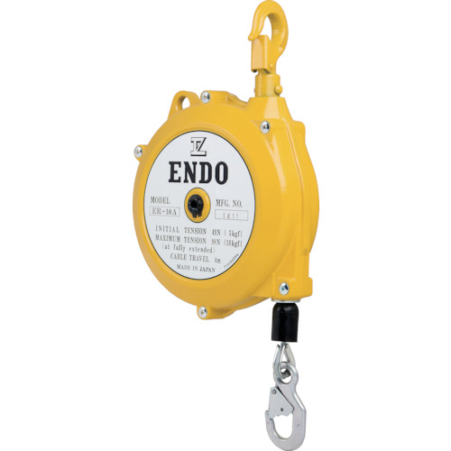 ENDO トルクリール ラチェット機構付 ER-10A 4m【ER10A】 販売単位:1台(入り数:-)JAN[4560119620422](ENDO ツールバランサー) 遠藤工業(株)【05P03Dec16】