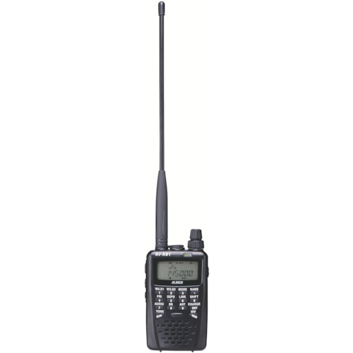 アルインコ 地上デジタル放送音声受信対応広帯域受信機【DJX81】 販売単位:1台(入り数:-)JAN[4969182350296](アルインコ 避難用品) アルインコ(株)【05P03Dec16】