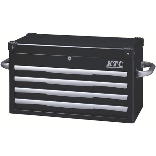KTC トップチェスト(4段4引出し)ブラック【EKR1004BK】 販売単位:1個(入り数:-)JAN[4989433834542](KTC スチール製工具箱) 京都機械工具(株)【05P03Dec16】