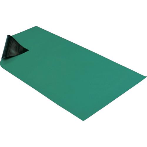 HOZAN 導電性カラ-マット 1×1.8M グリーン 補強繊維入り【F757】 販売単位:1巻(入り数:-)JAN[4962772097571](HOZAN 静電気対策マット・シート) ホーザン(株)【05P03Dec16】