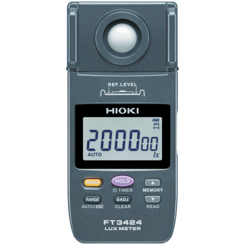 HIOKI 照度計【FT3424】 販売単位:1台(入り数:-)JAN[4536036001811](HIOKI 環境測定器) 日置電機(株)【05P03Dec16】