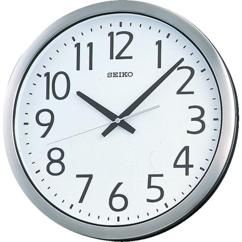 セイコークロック(株)【05P03Dec16】 金属枠【KH406S】 直径381×40 SEIKO 販売単位:1個(入り数:-)JAN[4517228002748](SEIKO 掛時計) 防湿・防塵型オフィスクロック