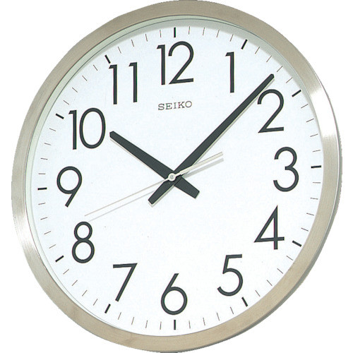 SEIKO オフィスクロック 直径350×34 金属枠【KH409S】 販売単位:1個(入り数:-)JAN[4517228002984](SEIKO 掛時計) セイコークロック(株)【05P03Dec16】