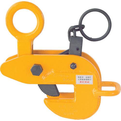 スーパー 横吊クランプ(ロックハンドル式・先割型)【HLC0.5U】 販売単位:1台(入り数:-)JAN[4967521084208](スーパー 吊りクランプ) (株)スーパーツール【05P03Dec16】