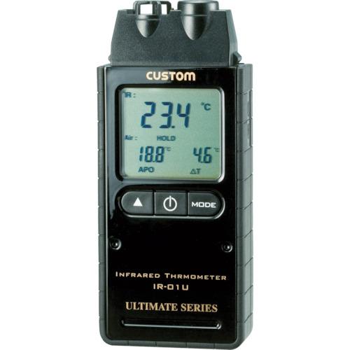 在庫品 送料無料新品 カスタム テスター IR-01U 商品番号:4492161 赤外線放射温度計 IR01U 販売単位:1個 4983621200010 JAN 株 入り数:- 温度計 おしゃれ 湿度計 05P03Dec16