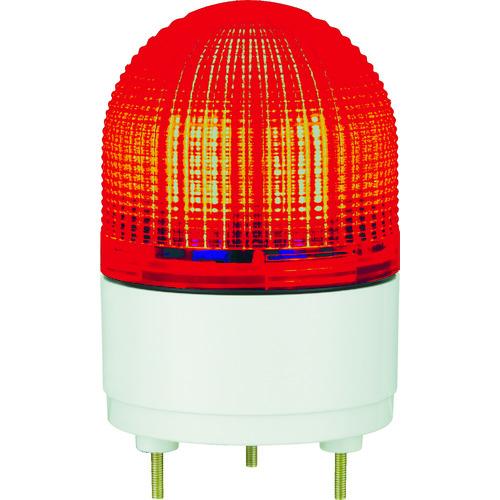 パトライト KHE型 LED表示灯 Φ100 点滅・流動・ストロボ発光 赤【KHE24R(R)】 販売単位:1台(入り数:-)JAN[-](パトライト 表示灯) (株)パトライト【05P03Dec16】