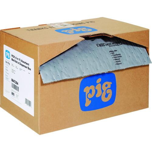 pig フォーインワンピグマット ミシン目入り (1巻/箱)【MAT284A】 販売単位:1箱(入り数:1巻)JAN[-](pig 吸収材) エー・エム・プロダクツ(株)【05P03Dec16】