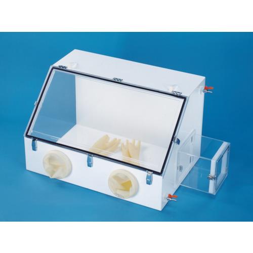 新光 グローブボックス(塩ビ)【M2P】 販売単位:1台(入り数:-)JAN[-](新光 研究用設備) (株)新光化成【05P03Dec16】