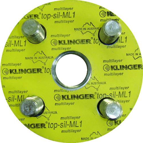 クリンガー フランジパッキン(5枚入り) ML1-10K-100A【ML110K100A】 販売単位:1袋(入り数:5枚)JAN[4571115515193](クリンガー フランジ) クリンガー社【05P03Dec16】