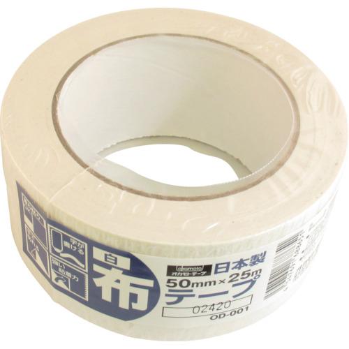 オカモト 布テープカラーOD-001 白【OD001W】 販売単位:30巻(入り数:-)JAN[4547691688651](オカモト 梱包用テープ) オカモト(株)粘着製品部【05P03Dec16】